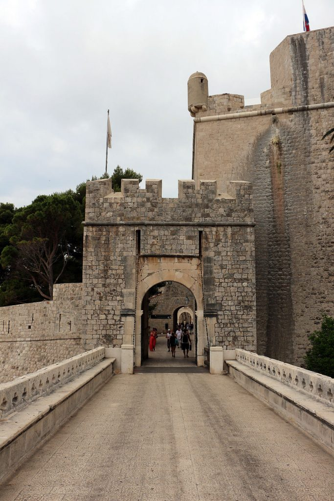 Dubrovnik game of thrones locations - Ploce Gate