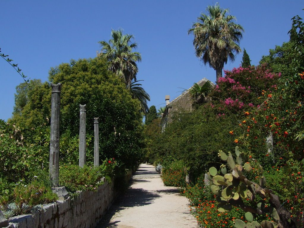 Dubrovnik game of thrones locations - Trsteno Arboretum