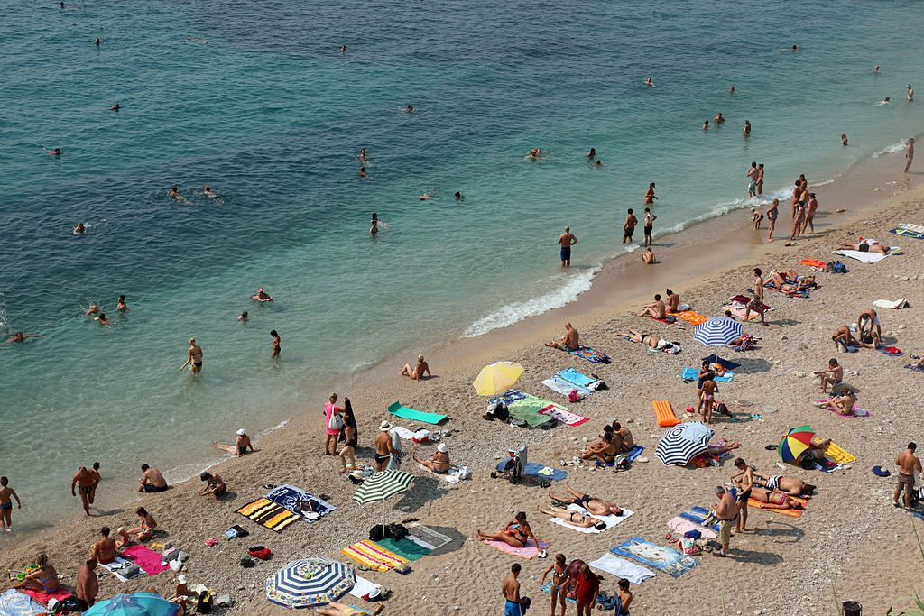 Best beaches of Dubrovnik - Banje Beach