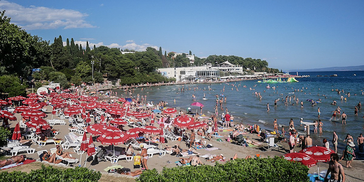 Bacvice Beach Split