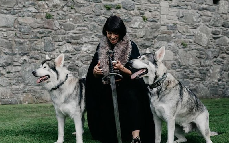 Game of Thrones Direwolf Tour