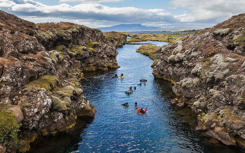 Silfra Snorkling Thingvellir National Park
