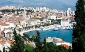 Split Harbour Croatia