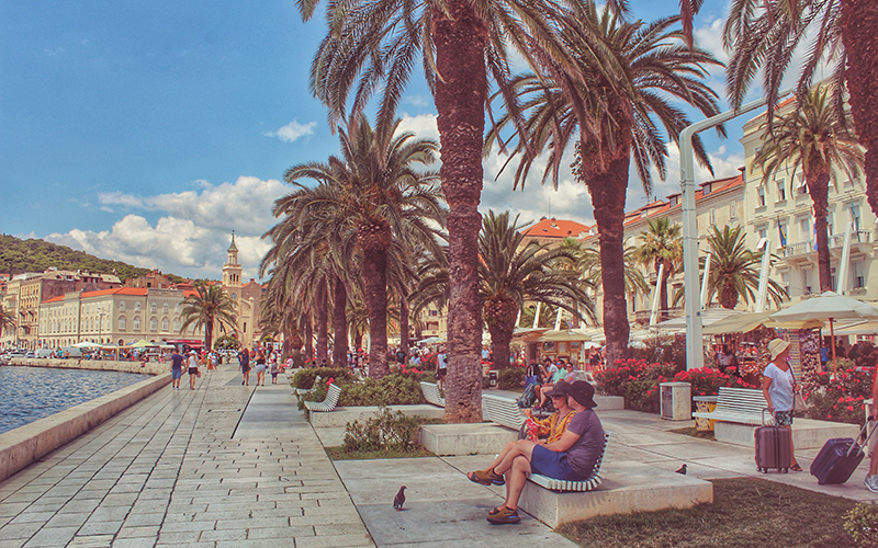 Things to do in Split Croatia - Riva Promenade